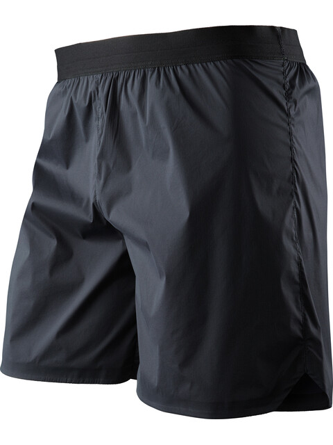 X-Bionic M's Aero Running Pants Short Black/White